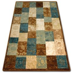 Carpet INTERO PHONO 3D Squares gold