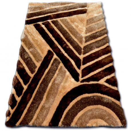 Carpet Shaggy Soft 3d Ty131 Brown