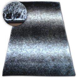 Carpet Shaggy SPACE 3D B315 black/grey