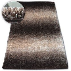 Carpet Shaggy SPACE 3D B315 brown