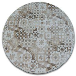 Carpet, round MAIOLICA beige LISBOA