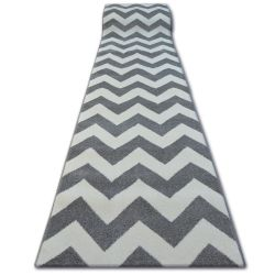 Runner SKETCH FA66 grey/cream - Zigzag