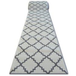 Runner SKETCH F343 white/grey trellis